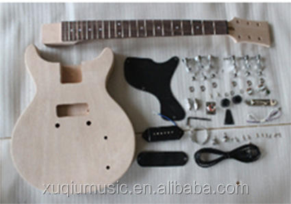 CHINA GOOD QUALITY Unfinished DIY Electric Guitar Kits for Sale