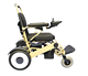 Medical supplies aluminum framework long driving range electric wheelchair folding lightweight for the elderly people
