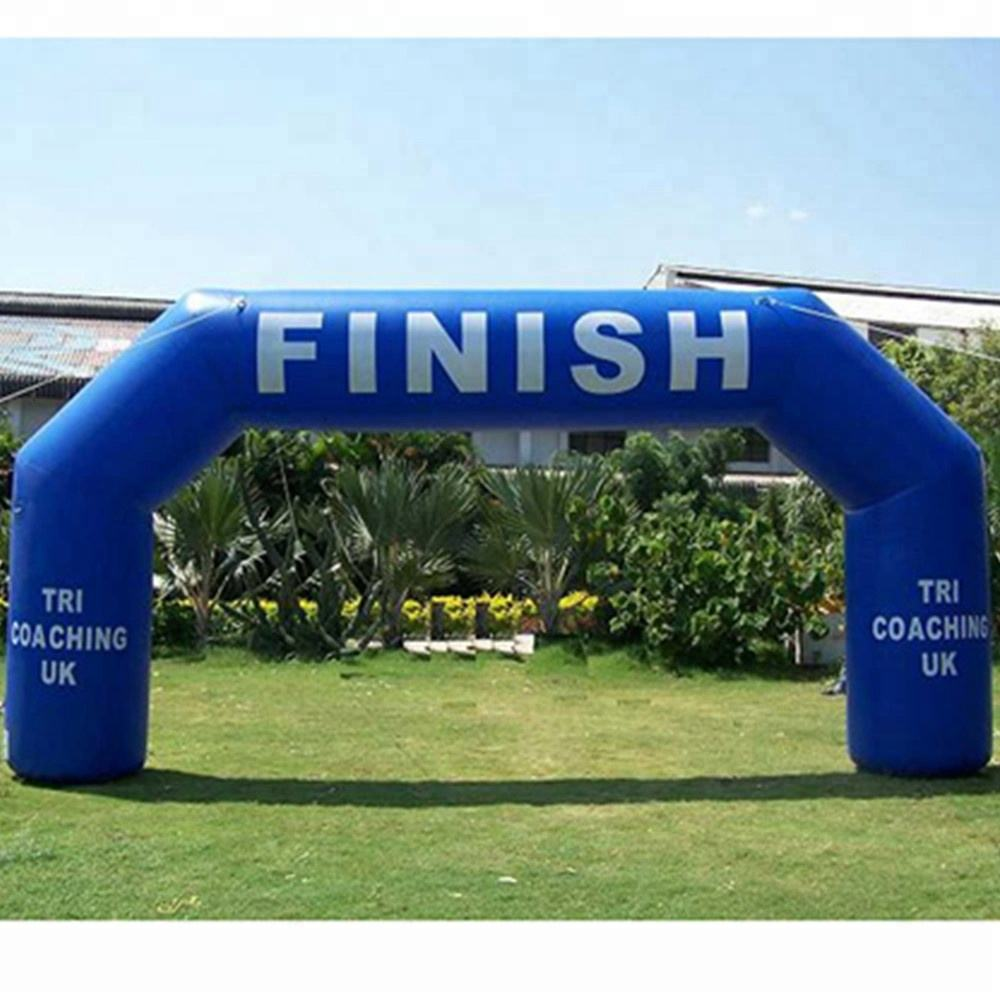 WINSUN PVC materia linflatable race arch for advertising