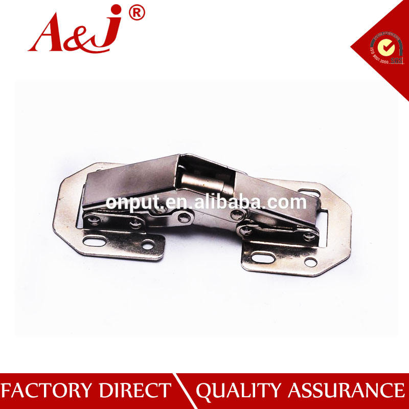 No-Drilling Hole Cabinet Hinge Bridge Shaped Spring Frog Hinge