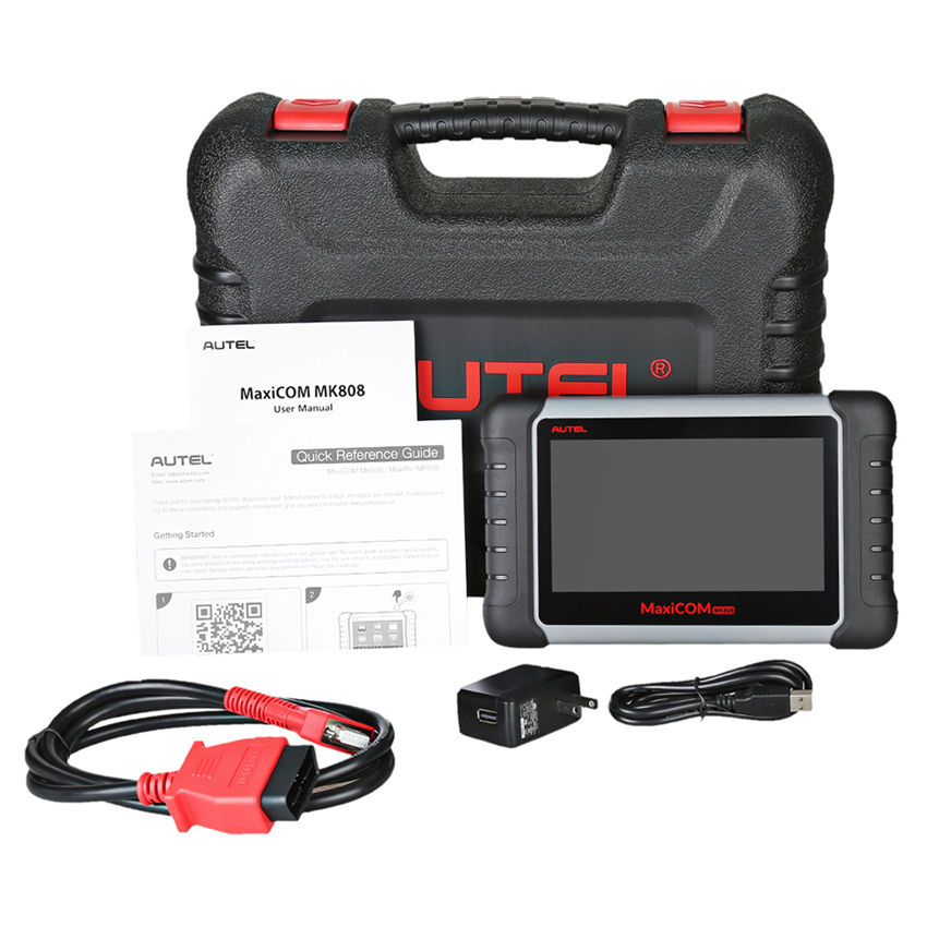 All System-Buy7days Autel MaxiCOM MK808 OBD2 Diagnostic Tool 와 오일 Reset, EPB, BMS, SAS, DPF, TPMS & IMMO