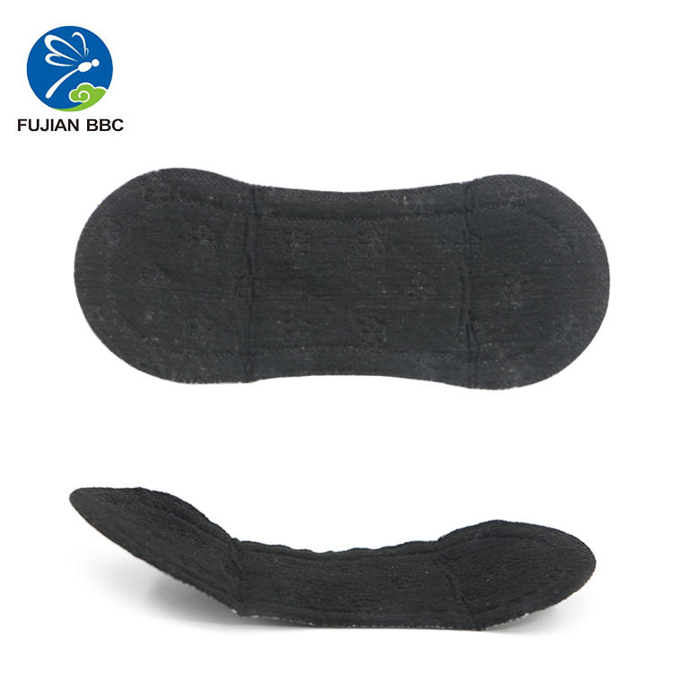 Disposable breathable cotton natural black panty liners manufacturer
