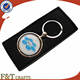 Beauty souvenir spinning coin metal movie keychain for F&T Crafts wedding gifts support oem