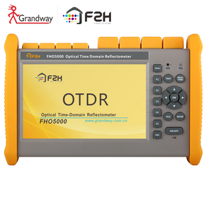 [grandway Original]FHO5000 D35 Single mode OTDR 1310/1550nm 35/33dB 145km built-in power meter  VFL  touch screen iOLM
