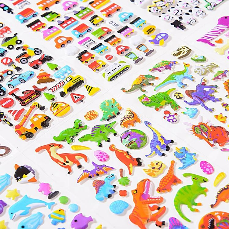3D Puffy Stickers Stickers 1000 and 20 Different Scenes Year-Round Sticker Bulk Pack for Teachers,Students Toddlers,Scrapbooking Girl Boy Birthday Present Gift,Christmas Festival Supplier.