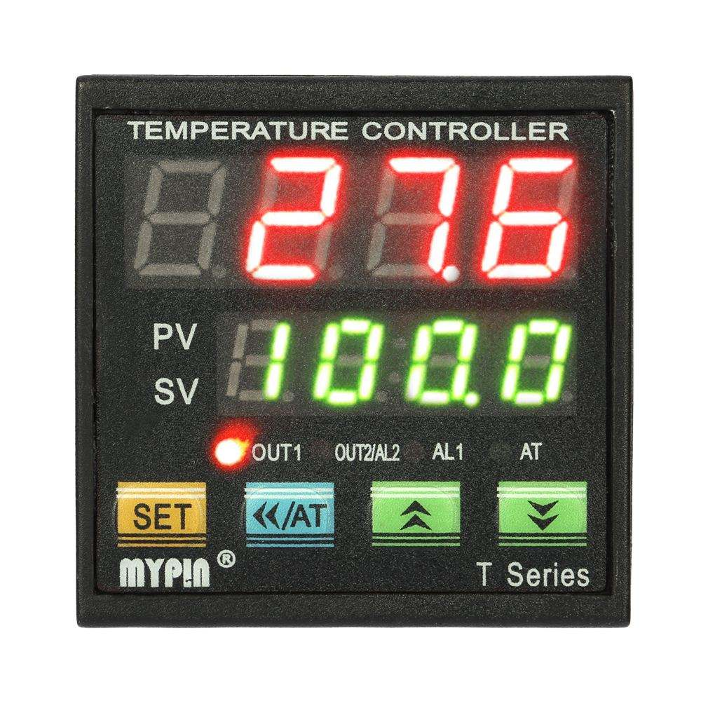 Digital Temperature Controller Thermometer Coil Heater thermostat Heat Cool thermal regulator TC/RTD Input SCR Output 1 Alarm