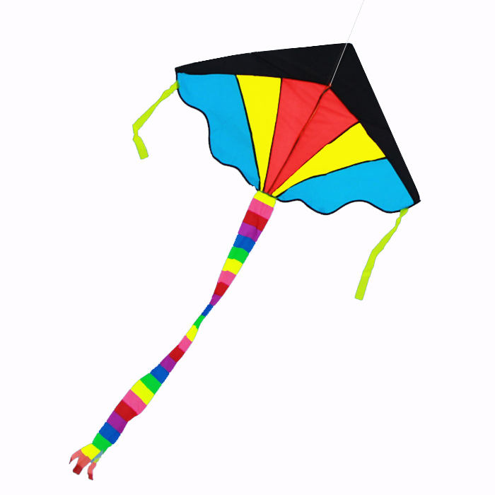 new rainbow sparkler fly-hi kite