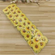 S-1283 Artificial Silk Flower Gerbera Mini Flower Bouquet DIY Small Flower 6 Heads Sunflower For Decoration