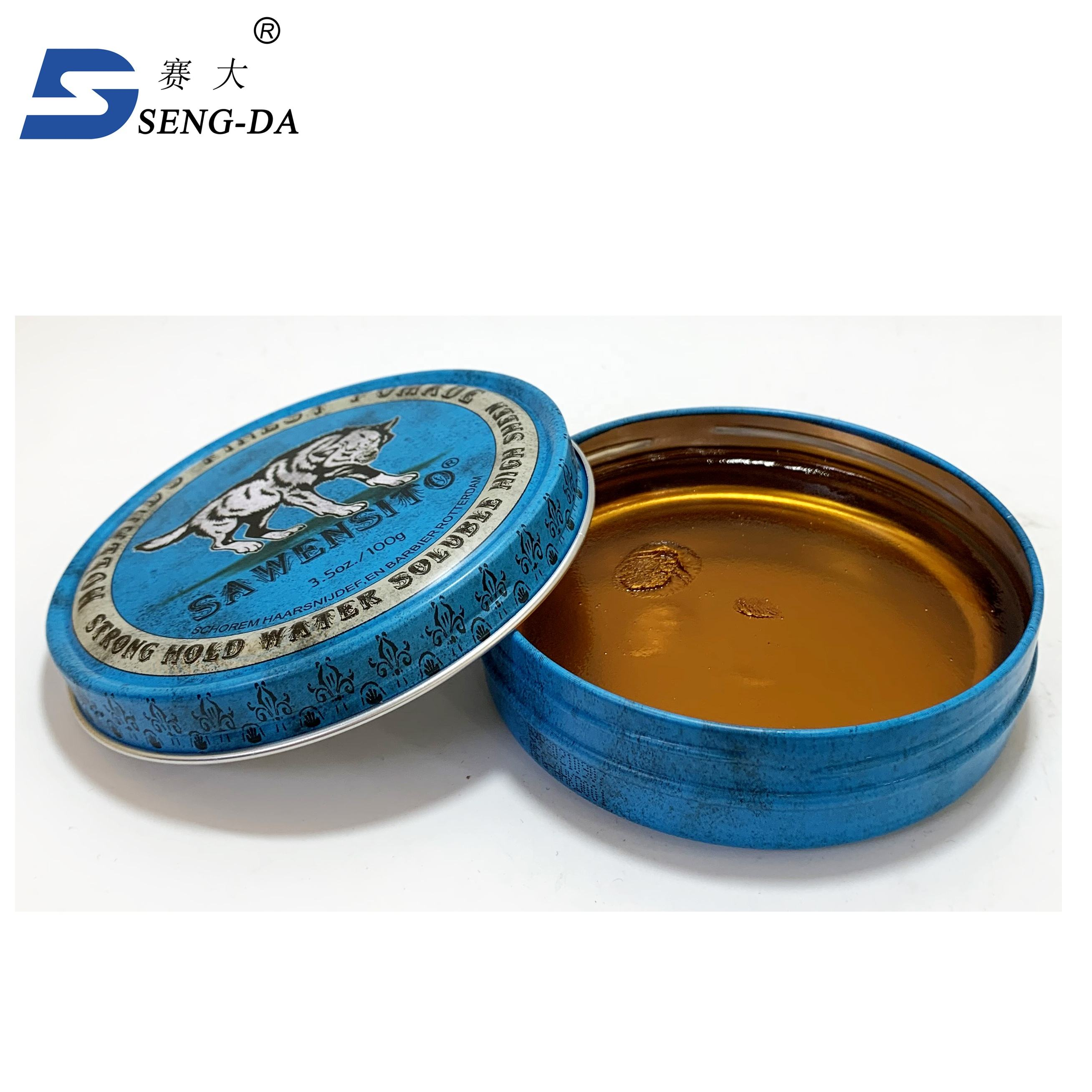 Wholesale price strong edge style private label hair pomade