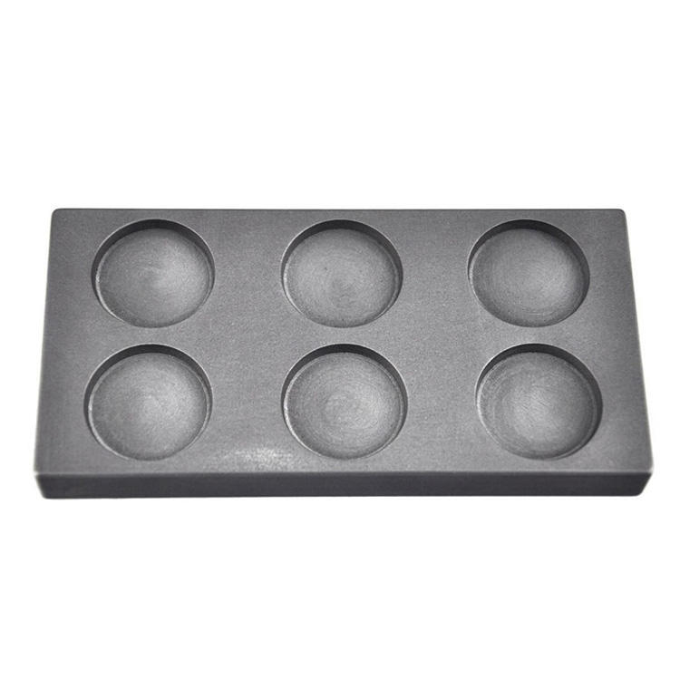 Glass blowing carbon graphite molds, fine grain die casting graphite mold