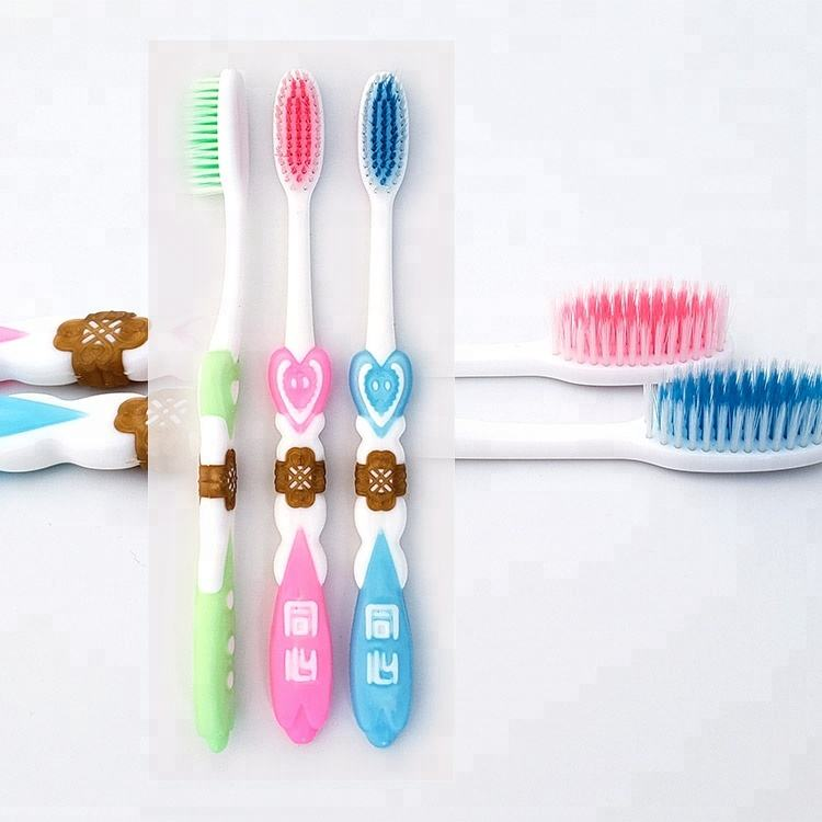 Chinese traditional true lover's knot bright rubber toothbrush