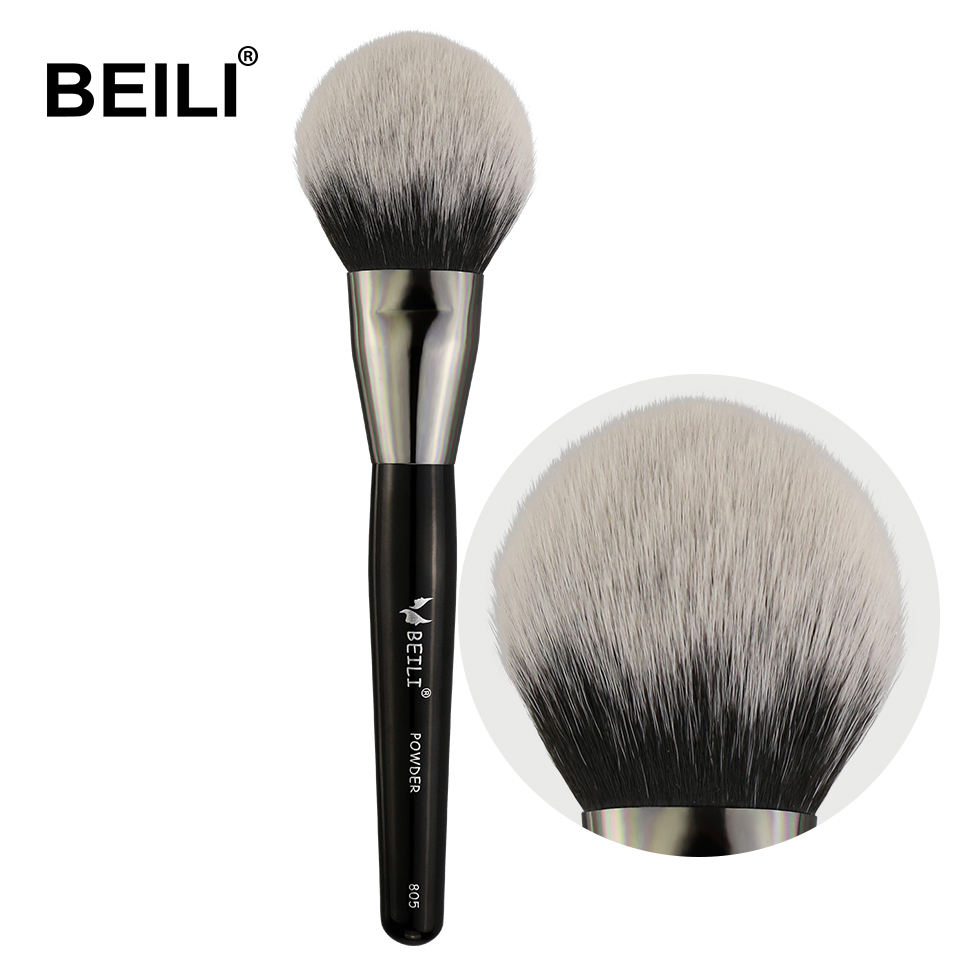 BEILI 1 PIECE Synthetic Hair Big Powder Soft Single Makeup Brushes 805#