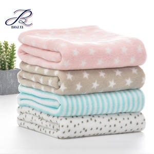 BOJAY Super Soft Factory Supplier Cheap Price 100% Polyester Coral Fleece Children Kids blanket warm baby mink blanket