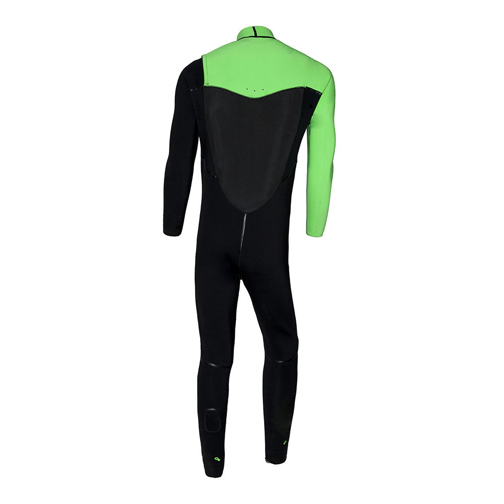 Wetsuit Wetsuit Chest Zip Custom Top 3mm Surfing Neoprene Fabric Printing Triathlon Spearfishing Diving Surfing Smooth Skin Wet