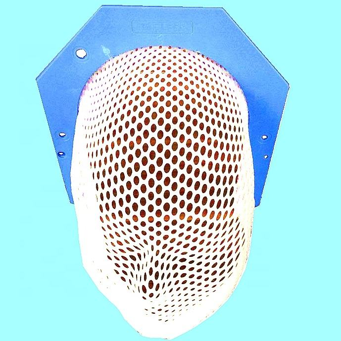 Thermoplastic U-Frame Head Mask for radiotherapy
