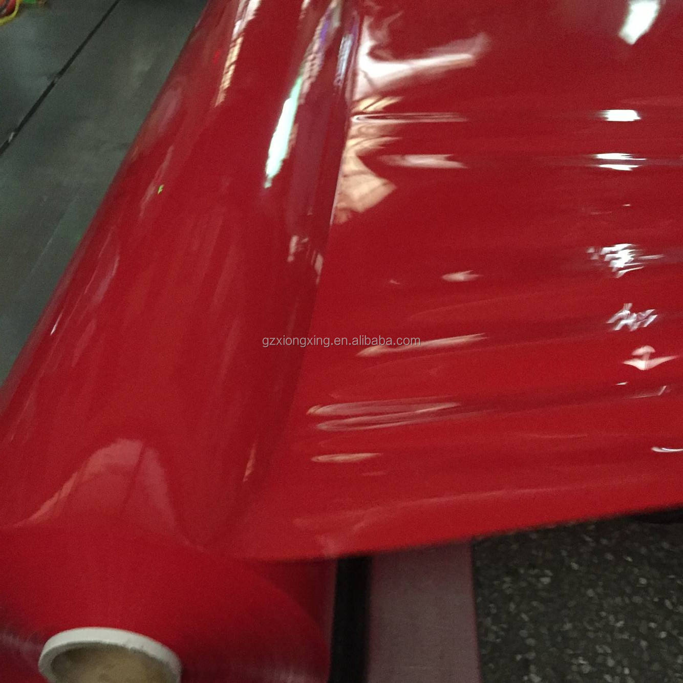 high gloss pvc printing film for car vinyl wrap advertising