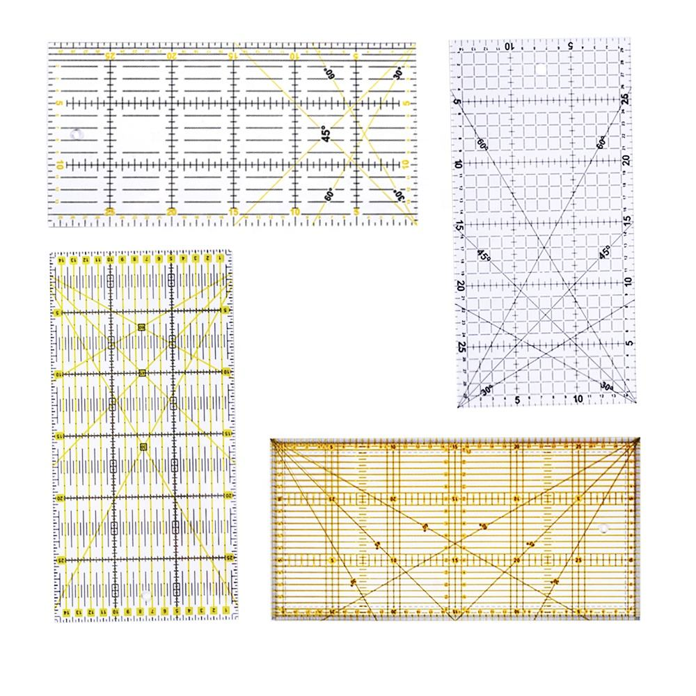 15*30cm Rectangle Patchwork Quilting Promotional Ruler Acrylic Material Sewing Ruler