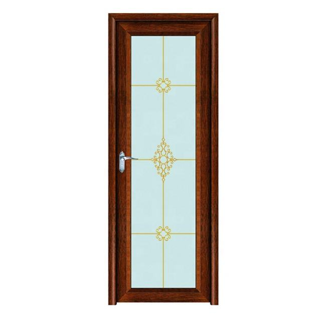 Aluminium casement teak wood door design