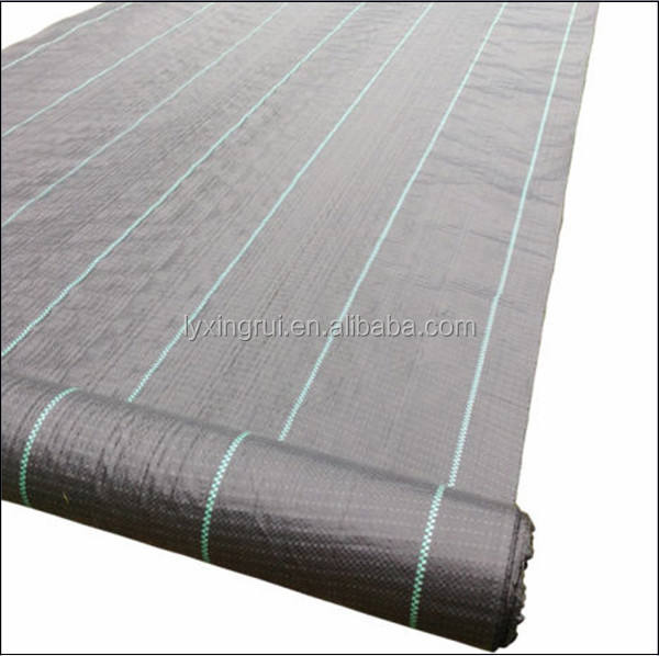 Alibaba China Heavy PP Woven Weed Barrier for Raised Bed Soil Erosion Control and UV Resistant