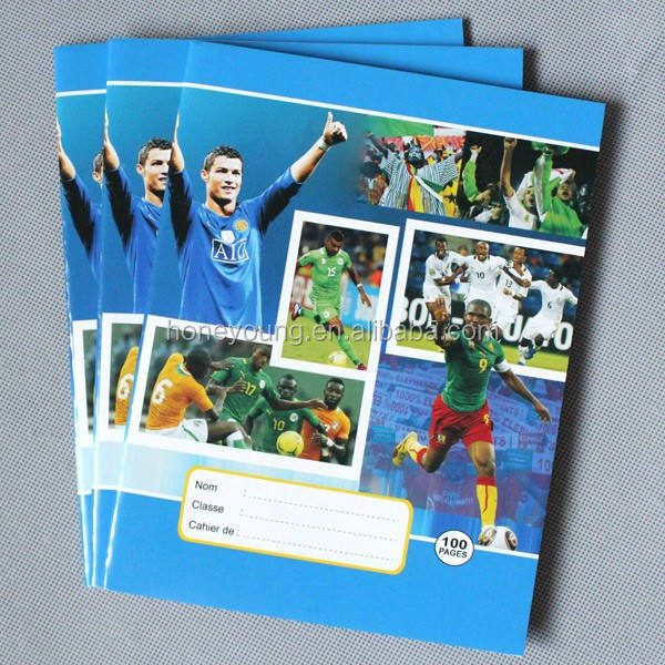 cheap bulk notebooks classmate notebook with football star