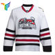 Custom Unique Sublimated Long Sleeve 6xl Ice Hockey Jersey For Men College hockey jersey pattern design Team Hockey Uniforms