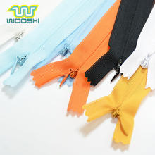 Garment Accessories High Quality 3# Invisible Lace Nylon Coil Zipper For Dress