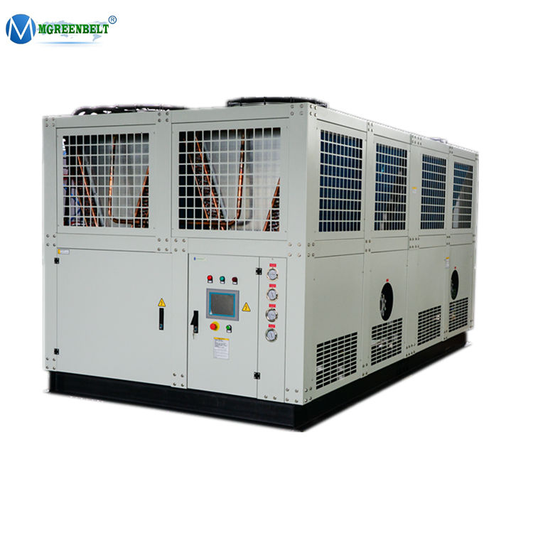 Factory Direct Selling Industrial 220Kw 60 Ton Food Mixing Air Cooled Water Chiller