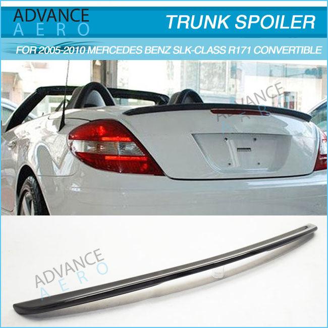 Carbon Fiber Wing For 05-10 M-Benz R171 SLK280 SLK350 SLK55 A Type Trunk Spoiler