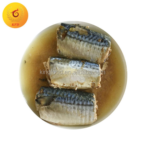 Canned Mackerel Tin Fish 425 in Brine