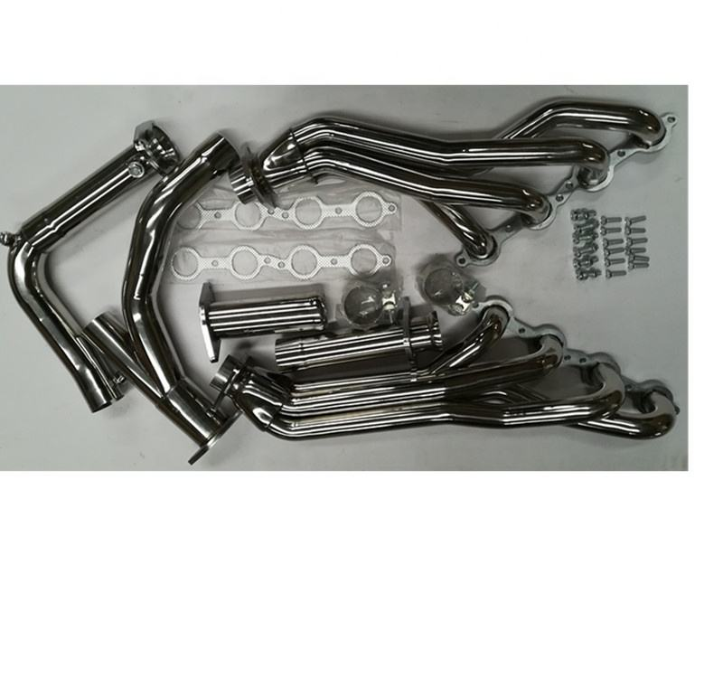 FOR 01-07 MIT EVO 7//8//9 4G63T STAINLESS STEEL TWIN SCROLL TURBO MANIFOLD EXHAUST