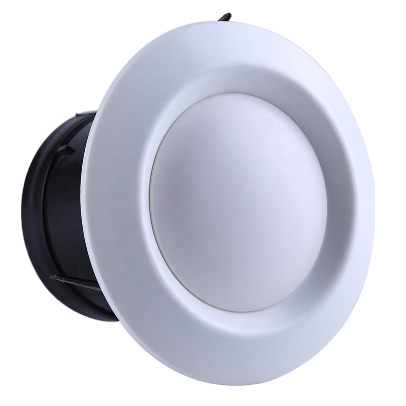 The Latest Round Exhaust Air Vent Ceiling Diffuser Wall Ventilation Outlet for Air Conditioning Ventilation System