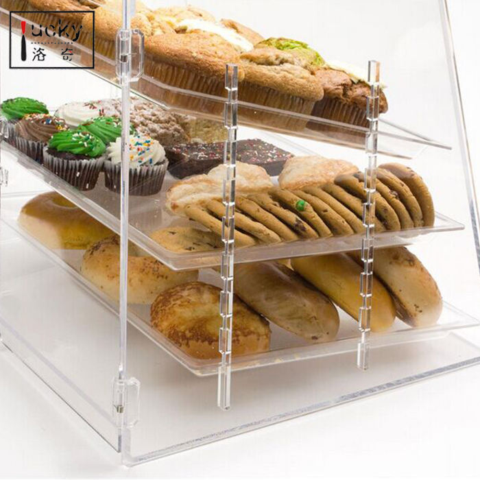 ACRYL KUCHEN/DONUT/MUFFIN DISPLAY KABINETT lebensmittel display fall