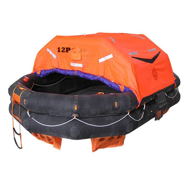 SOLAS approved 10 persons Self Inflatable Life Raft