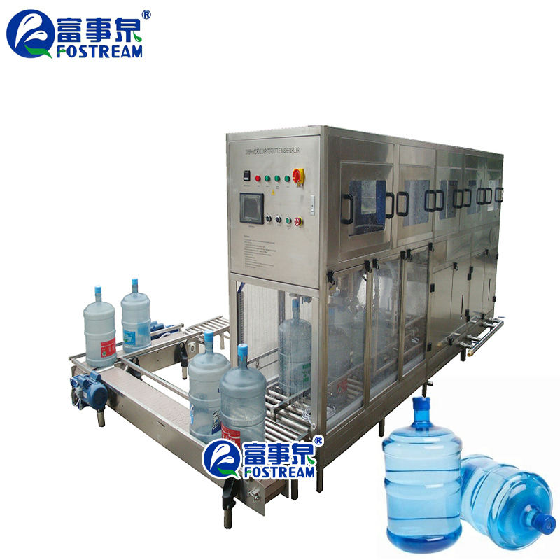 Automatic 5 Gallon Water Bottle Filling Machine/Barrel Water Bottling System