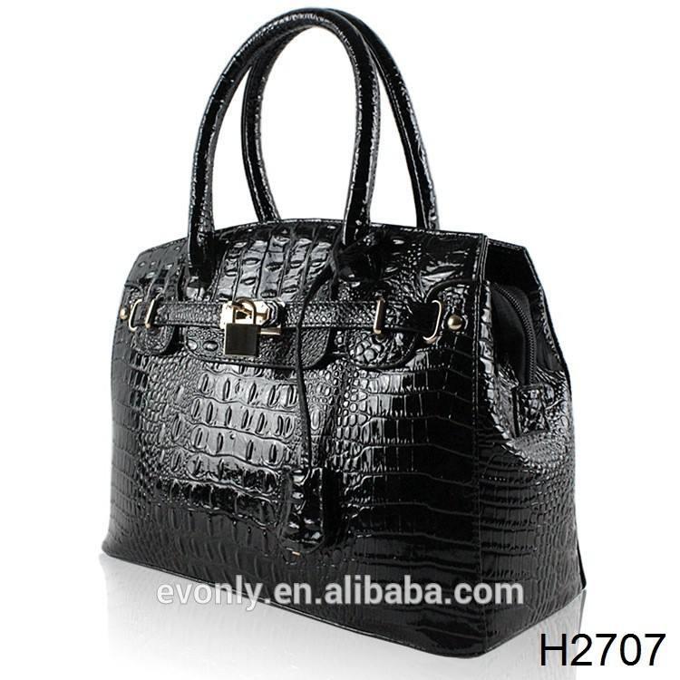 h2707 2014 femmes concepteur de faux sacs en cuir pour gros fabricant de la chine