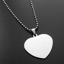 Alibaba website wholesale silver DIY blank heart pendant to engrave