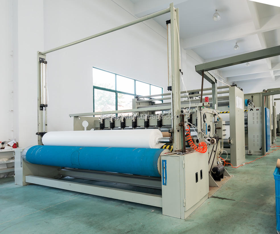 24 Months Warranty CHangshu ISO9001 High capacity non woven fabric making machine