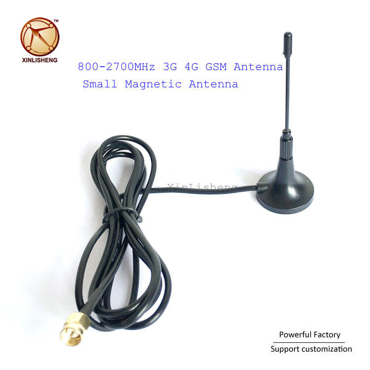 Wholesale OEM Small Magnetic 4dBi Antenna 800-2700MHz 3G 4G GSM Antenna