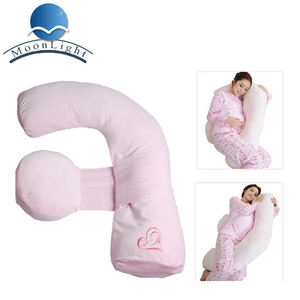 L-shape baby pregnancy and maternity pillow are good sleeping