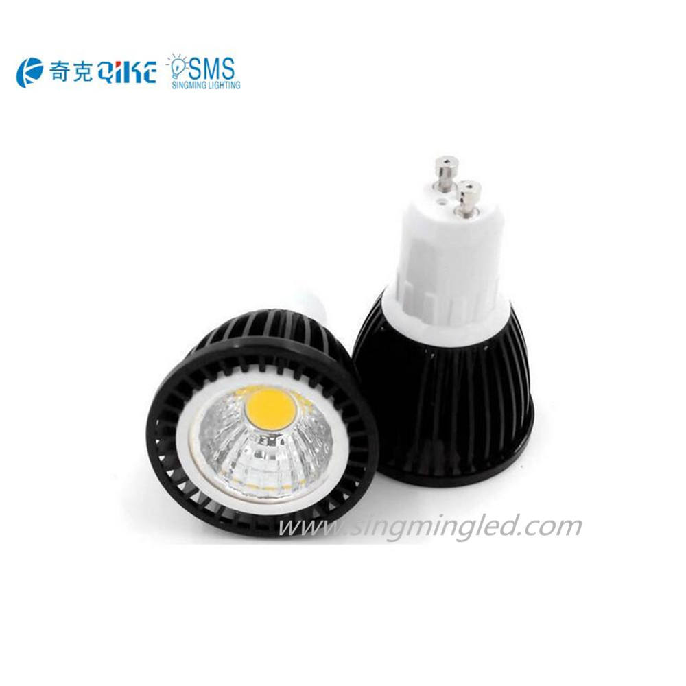 LED spotlight COB lamp cup 3w 5W living room ceiling spotlight
