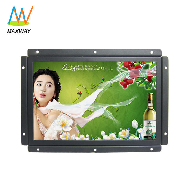 10 inch monitor IPS panel small size 10 inch LCD monitor with 12V DC input