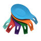 Wall Hung Spoon design FDA Silicone Cute Utensil Rest