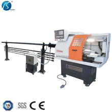 small mini cnc lathe with live tooling CK0640A cnc machine for sale