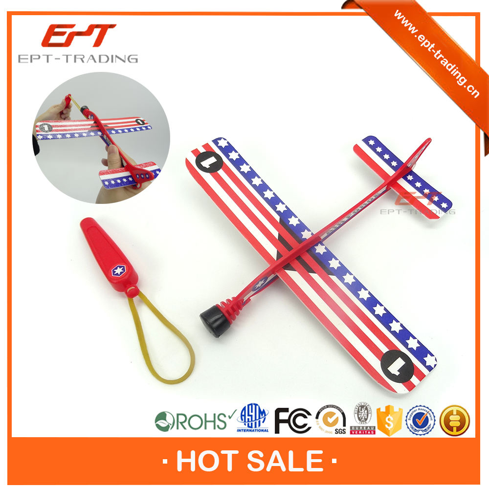 Wholesale cheap ejecting paper toy plane for sale