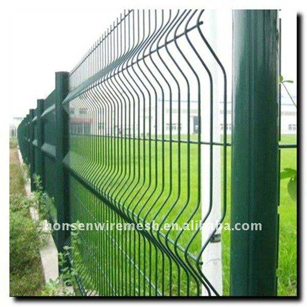 top quality pvc coated Welded Wire Mesh Fence
