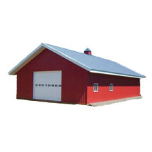 Cheap Price Steel Prefabricated Portable Designs Steel Construction Garage/Shed/Barns/Warehouse