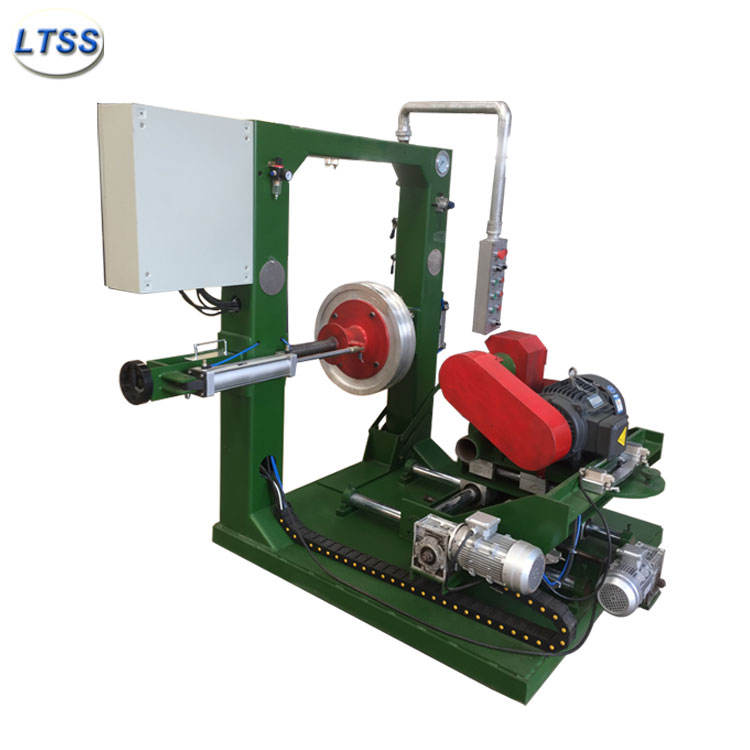 Rubber tire grinding machine / tire buffing machine for old tires retreading
