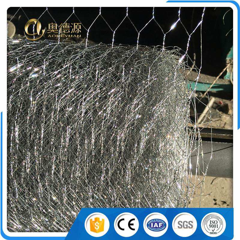 animal fence hexagonal chicken crimped wire flexible metal mesh netting