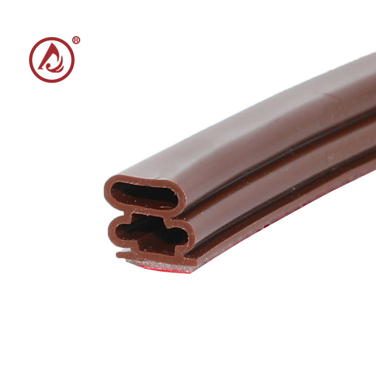 Good elasticity and flexibility customized cabinet door silicon rubber seal strip