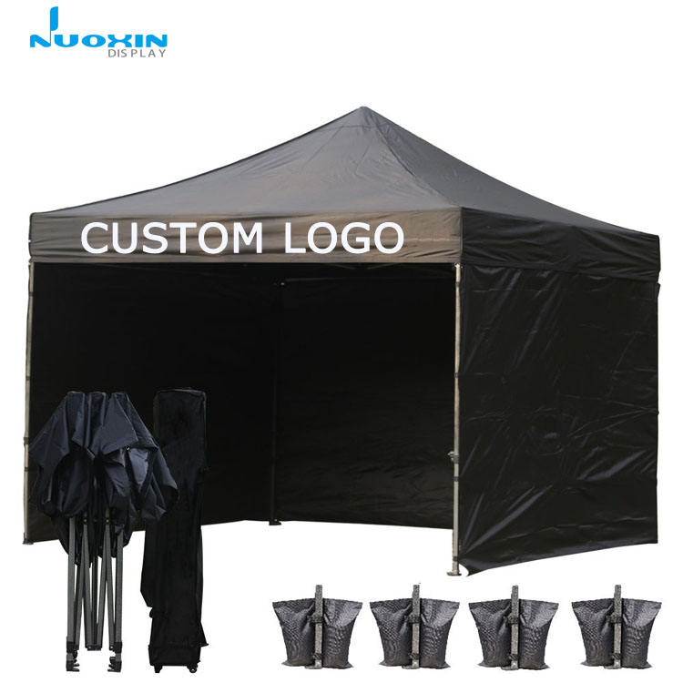 Yiwu factory hot sale cheap custom printed outdoor event canopy gazebo tent 3x3m with windows